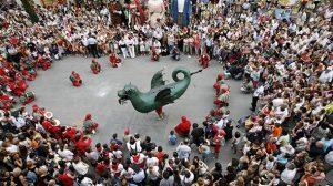 la Festa Major Barcelone