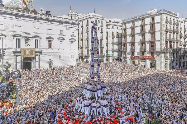 Fête de la Mercè, Barcelone