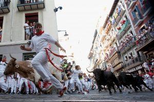 Festival du taureau Pampelune