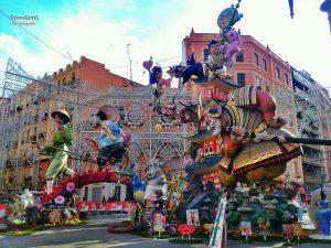 Las Fallas Festival, Valence Espagne