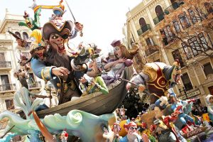 Las Fallas Festival, Valencia Espagne
