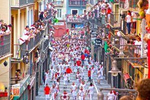 Pamplona Espagne Fiesta de San Fermín