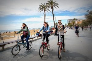 Faire du vélo Barcelone