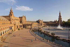 Visite la place d'Espagne Séville