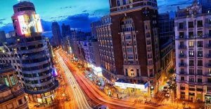 Visiter l'avenue des spectacles Madrid