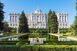 Visiter le palais royal madrid