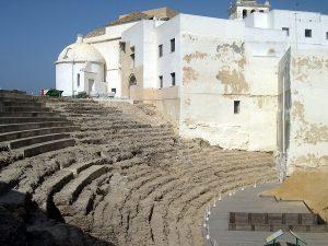 Visiter le théâtre romain Cadix