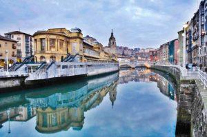 Bilbao en bateau