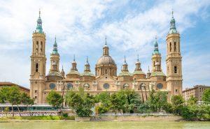 La basilique Notre Dame du Pilier Saragosse