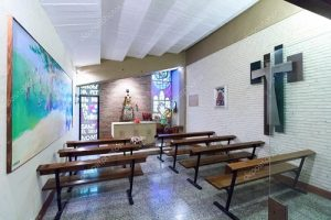 La visite de la chapelle du stade Camp Nou Barcelone