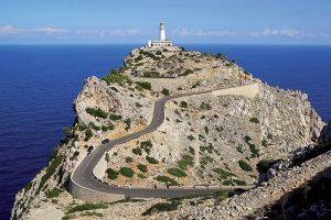 Le phare de Formentor Palma de Majorque