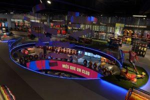 Le tour de la boutique officielle du Barça Camp Nou Barcelone