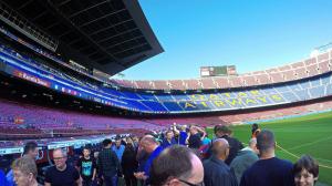 Le tour du stade Camp Nou Barcelone