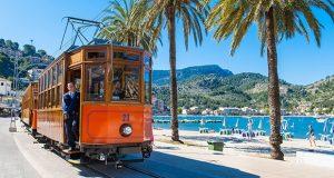 Le train de Soller Palma de Majorque