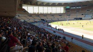 Découvrir les pistes athlétiques au stade olympique de Séville