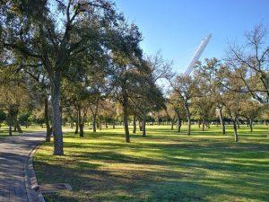 Faire un tour au parc de l'Alamillo