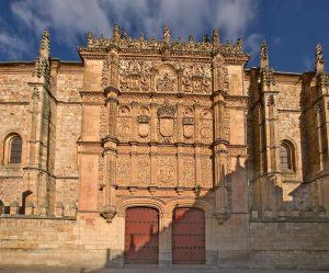 La façade de Salamanque