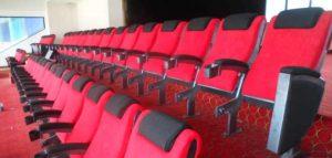 Le box VIP au stade Estadio Metropolitano de Madrid