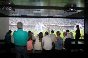 Regarder le film de Real Madrid au stade Santiago Bernabéu de Madrid