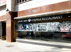 Restaurant officiel Arène de sport 1903 au stade Estadio Metropolitano de Madrid