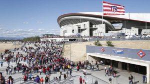 Suivre un match au stade Estadio Metropolitano de Madrid