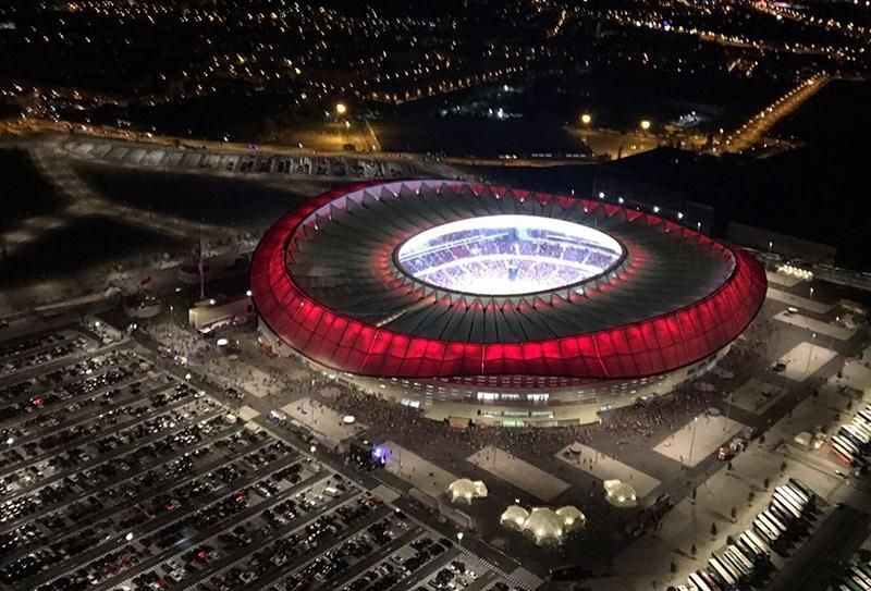 au Stade Estadio Metropolitano de Madrid