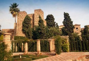 Alcazaba de Malaga monuments andalousie