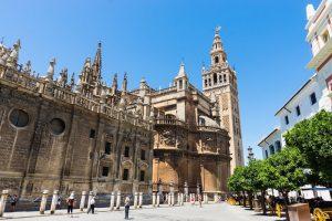 Giralda monuments Andalousie