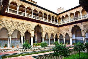 La Casa de Pilatos monuments Andalousie