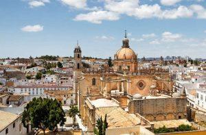 La Cathédrale de Jerez de la Frontera monuments Andalousie