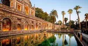 Palais de l'Alcazar Royal monuments Andalousie