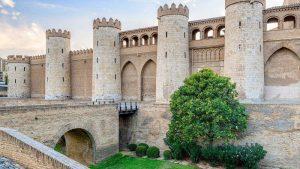 Palais de l'Aljaferia meilleur palais andalousie