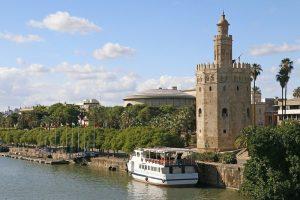 Torre del oro monuments d'Andalousie