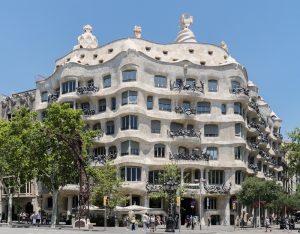 La Casa Milà monuments Espagne