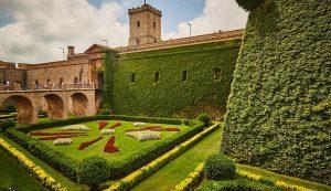 Le château de Montjuic Espagne