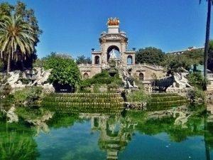 Le parc de la Ciutadella Espagne