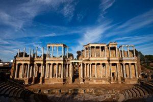 Théâtre romain de Mérida monuments célèbres espagne