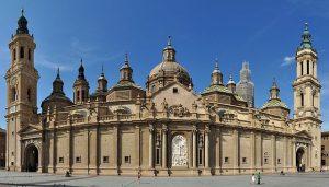 La Basilique de Nuestra Señora del Pilar meilleur monument saragosse