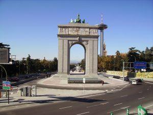 Monument Arc de la victoire Madrid