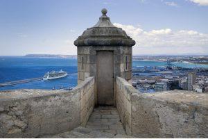 château de Santa Barbara Alicante