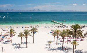 Playa de Alcudia Mallorca Espagne