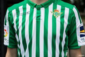 maillot du club de Real Bétis