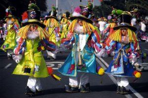 Présentation du carnaval de Tenerife