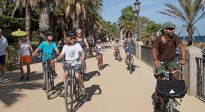 Faire du sport à vélo Marbella