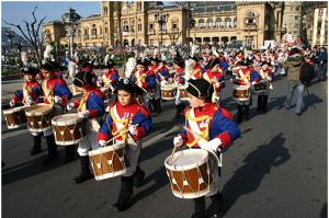 costumes au festival de Saint Sébastien