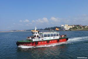 Excursion en bateau dans la crique de Santander