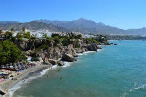 Plage de Calahonda en Espagne