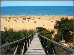 Plage de Mazagón plages Andalousie