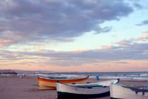 Playa El Cabañal plages valencia