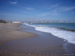 Playa de Pinedo plages d'Espagne